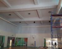 Spor Salonu Duvarda Melamin Sünger Uygulaması