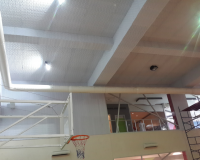Spor Salonu Tavan Melamin Sünger Uygulaması