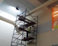 Spor Salonu Akustik Düzenleme Çalışması