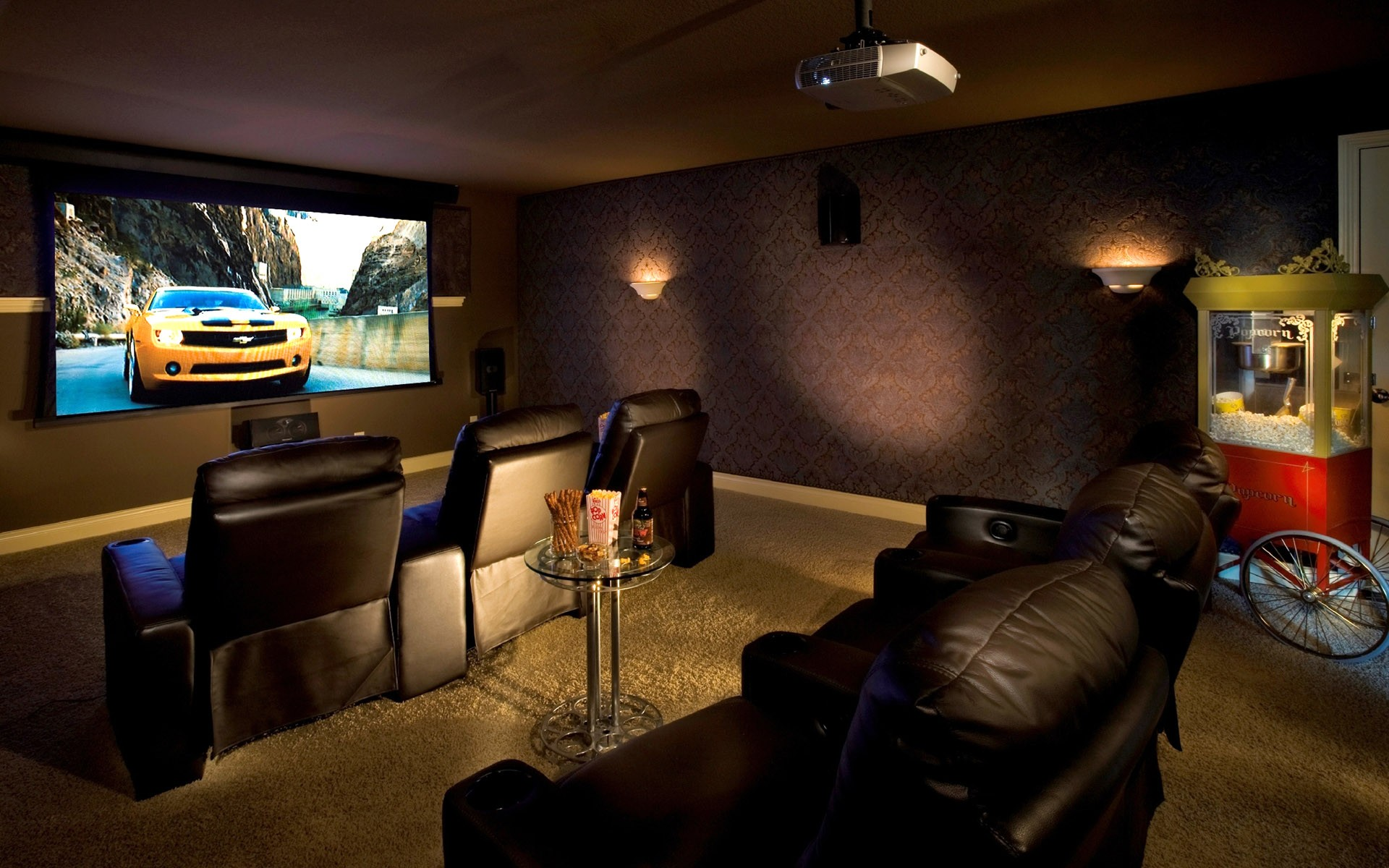 Home cinema ses yal t m evlerde akustik oda for Small room movie theater